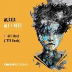 ACAXIA – All I Need