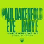 Paul Oakenfold, Eve, Baby E – What's Your Love Like – Stadiumx Remix