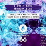 Martina Budde – Deaf Lion – I Don't Know Anybody Else (Yvvan Back & ZetaPhunk Remix)