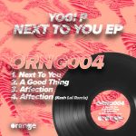Yogi P – Next To You EP